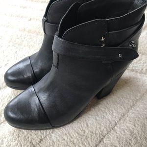 rag & bone harrow booties brand new